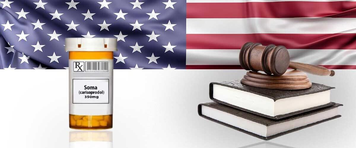 Is Carisoprodol (Soma) a Controlled Substance in the USA